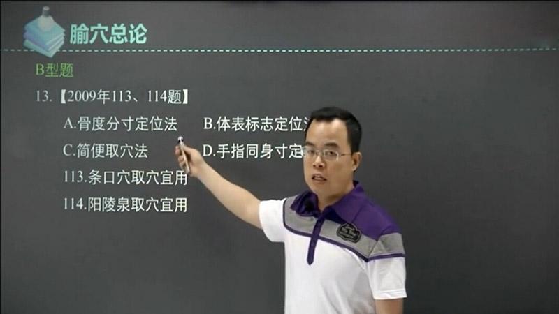 中医综合之针灸学:真题解析