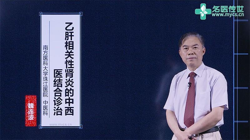 魏连波:乙肝相关性肾炎的中西医结合诊治(第2P-总2P)