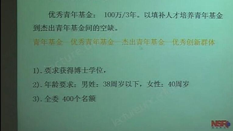 陈克新:2012年度国家自然科学基金项目申请专题报告
