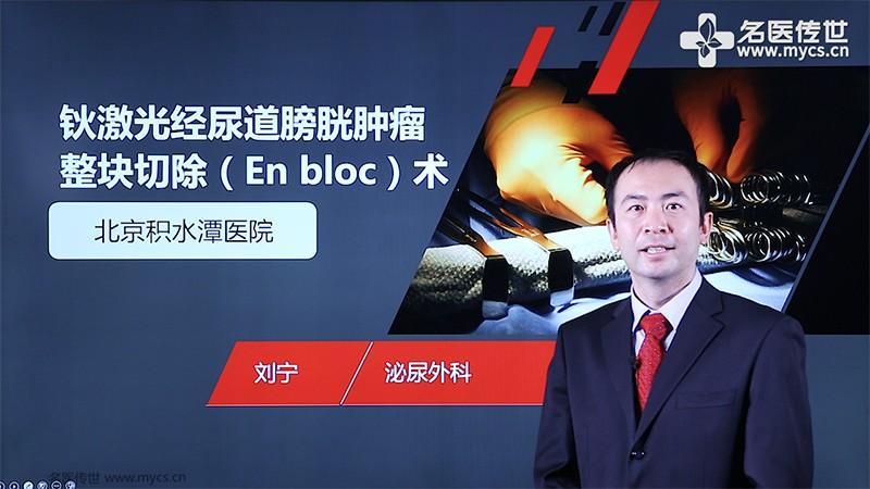 刘宁:钬激光经尿道膀胱肿瘤整块切除(En bloc)术(第2P-总2P)