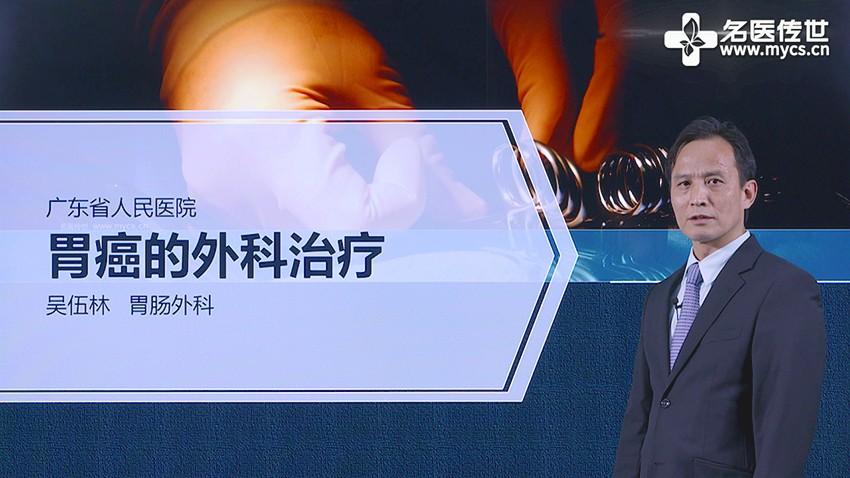 吴伍林:胃癌的外科治疗(第1P-总2P)