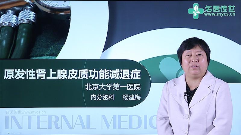 杨建梅:原发性肾上腺皮质功能减退症(第2P-总2P)