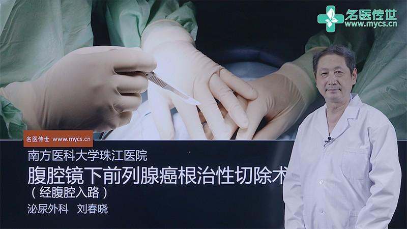 刘春晓:腹腔镜下前列腺癌根治性切除术(经腹腔入路)(第2P-总2P)