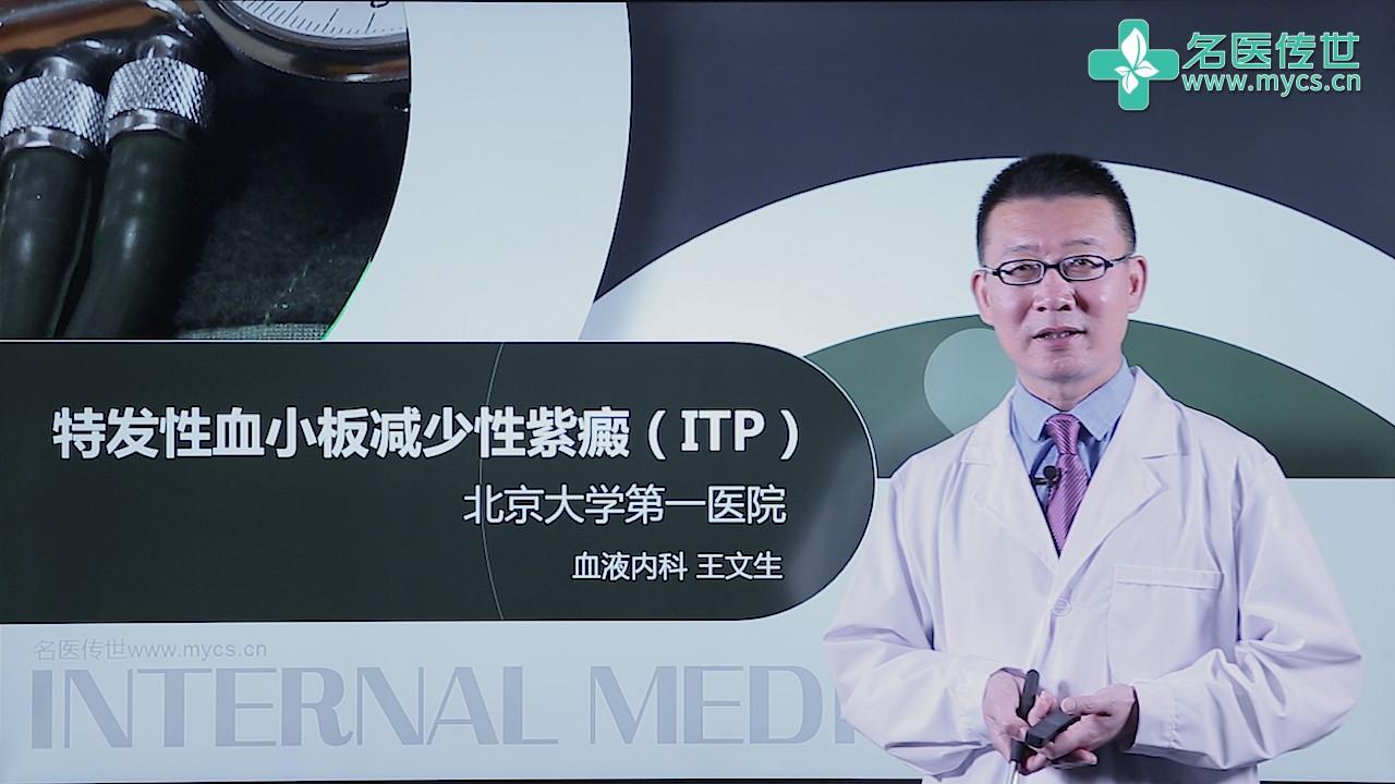 王文生:特发性血小板减少性紫癜(ITP)(第2P-总2P)