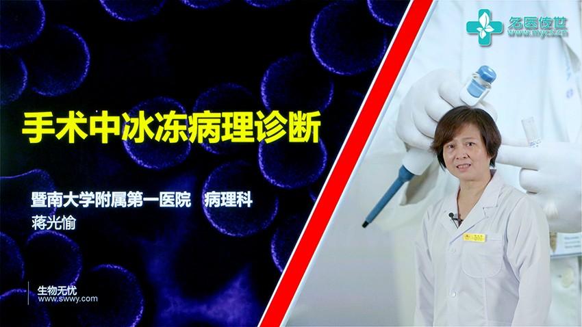 蒋光愉:手术中冰冻病理诊断(第2P-总2P)