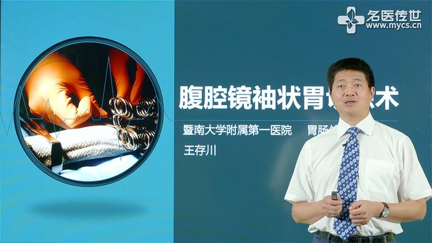 王存川:腹腔镜袖状胃切除术