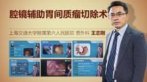 王志刚:腔镜辅助胃间质瘤切除术