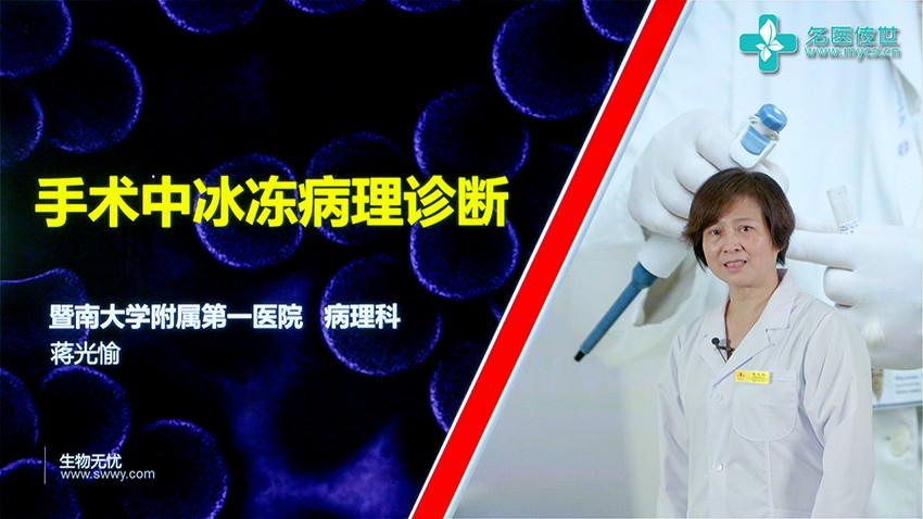 蒋光愉:手术中冰冻病理诊断(第1P-总2P)