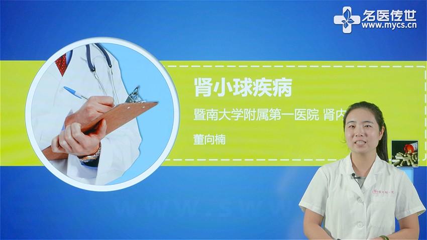董向楠:肾小球疾病(第1P-总3P)